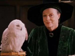 McGonagall lets her soft side show--just a little.