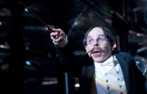 Professor Flitwick: Charms instructor and choir director extraordinaire